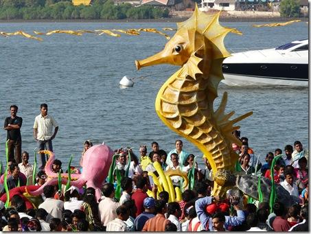 Seahorses come to Panjim